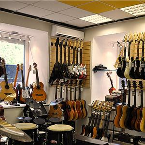 Музыкальные магазины Куровского